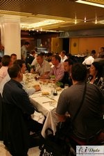 Lunch at the January 27-29, 2007 European Internet Dating Conference and Matchmaking Industry Event in Barcelona Spain