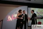 Match.com receiving Best Dating Site Award at the January 28, 2010 Internet Dating Industry Awards in Miami