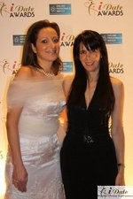 Ravit Ableman and Julie Spira at the 2010 iDateAwards in Miami