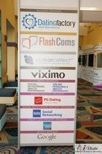 Sponsors Signage at the January 27-29, 2010 Miami Internet Dating Conference