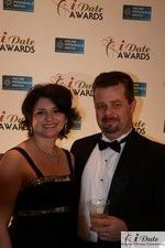 Scott + Emily McKay (X & Y Communications, Award Nominees) at the 2010 iDate Awards