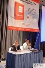 Jonathan Crutchley  (Chairman of Manhunt / Online-Buddies.com) + Rizwan Jiwan (Vice President of Product Marketing the Ashley Madison Agency) : Speakers at the 2010 Internet Dating Conference in Miami
