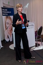 Ann Robbins (CEO of eDateAbility) at the June 22-24, 2011 Dating Industry Conference in California