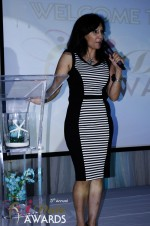 Comedienne Amy Tinoco at the 2012 iDateAwards Ceremony in Miami