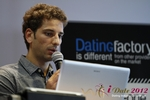David Khalil (Co-Founder of eDarling) at the September 10-11, 2012 Mobile and Online Dating Industry Conference in Germany