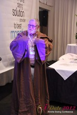 Jonathan Crutchley (Chairman at Manhunt) is actually Obi Wan Kenobi! at the iDate Mobile Dating Business Executive Convention and Trade Show