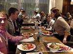 Lunch at the 2012 Russia Internet Dating Industry Conference in Moscow