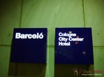 The Barcelo Hotel at iDate2013 Germany