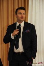 Maciej Koper (CEO of World Dating Company) at the 2013 European Union Online Dating Industry Conference in Germany