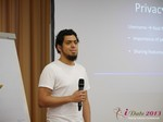Miguel Espinoza (Developer @ PHPFox) at iDate2013 Germany