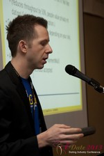 Dave Sanguinetti (CEO of Real-Gifts) at the January 16-19, 2013 Las Vegas Online Dating Industry Super Conference