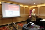 Julie Ferman (eLove / Cupids Coach) at the January 16-19, 2013 Las Vegas Online Dating Industry Super Conference