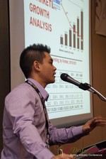 Kevin Feng (Super Affiliate at MoxyMedia) at the January 16-19, 2013 Las Vegas Internet Dating Super Conference