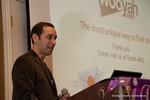 Mike Gregory (CEO of Wooyah) at the CEO Therapy session at the January 16-19, 2013 Las Vegas Online Dating Industry Super Conference