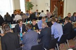 Speed Networking among Dating Industry Executives  at the September 7-9, 2014 Mobile and Internet Dating Industry Conference in Cologne