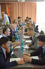 Speed Networking Among Dating Industry Executives  at the 2014 European Union Online Dating Industry Conference in Cologne