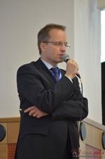 Dieter Plassman, CTO at Net-M  at iDate2014 Koln