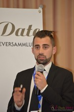Matthew Banas, CEO of NetDatingAssistant  at the 39th iDate2014 Cologne convention