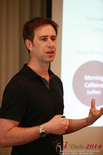 Author Neal Cabage Of The Smarter Startup at the 2014 Online and Mobile Dating Industry Conference in Beverly Hills