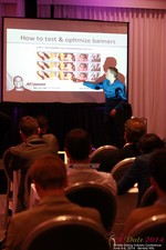 Axel Vezina, Chief Analytics Officer For Crak Media On Best Strategies For Mobile Dating Conversions  at iDate2014 California