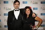 Arthur Malov & Damona Hoffman  at the 2014 Internet Dating Industry Awards Ceremony in Las Vegas