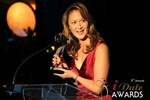Award accepted on behalf of Caroline Brealey (Winner of Best Matchmaker) at the 2014 Las Vegas iDate Awards Ceremony