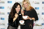Marcella Romaya & Sheri Grande (Gluten Free Desert @ iDate) at the 2014 iDate Awards Ceremony