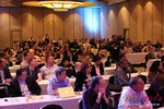 Audience at Final Panel Debate at iDate Expo 2014 Las Vegas