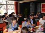 Lunch at the May 28-29, 2015 Mobile and Online Dating Industry Conference in Beijing