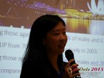 Violet Lim - CEO of Lunch Actually at the 41st International Asia and China iDate Mobile Dating Business Executive Convention and Trade Show