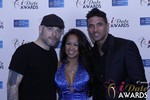 Sean Christian, Carmelia Ray and Doron Kim in Las Vegas at the January 15, 2015 Internet Dating Industry Awards