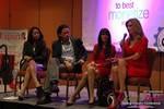 CNN Panel on Content Marketing - Carmelia Ray, David Perez, Julie Spira & Wendy Walsh at the January 20-22, 2015 Internet Dating Super Conference in Las Vegas