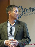 Justin Parfitt - CEO of HeyLets at the 12th Annual iDate Super Conference