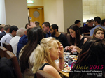Lunch Among European And Global Dating Industry Executives   at the European Union iDate conference and expo for matchmakers and online dating professionals in 2015