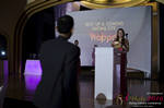 Svetlana Mukha Presenting the Best Up & Coming Dating Site Award at the 2016 iDate Awards Ceremony