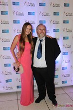 Media Wall Svetlana Mukha and Wayne May at the January 26, 2016 Internet Dating Industry Awards Ceremony in Miami