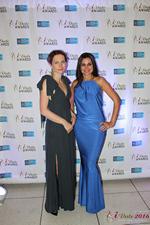 Media Wall Lena Bay and Natalia Jorgenson at the 2016 Miami iDate Awards