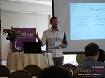Kenny Hyder (VP of Equate Media)  at the 38th Mobile Dating Business Conference in Califórnia