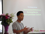 Monty Suwannukul (Product designer at Grindr)  at the 38th Mobile Dating Negócio Conference in Beverly Hills