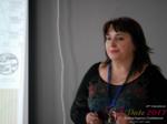 Irina Matulkova at the 49th iDate International Romance Industry Trade Show